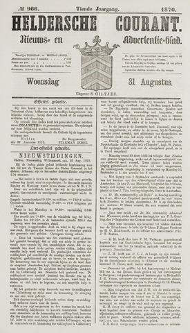Heldersche Courant 1870-08-31