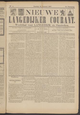 Nieuwe Langedijker Courant 1897-01-24
