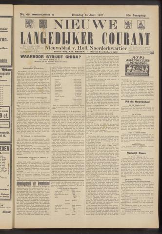Nieuwe Langedijker Courant 1927-06-14