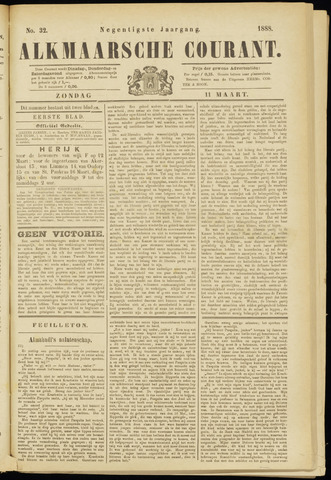 Alkmaarsche Courant 1888-03-11