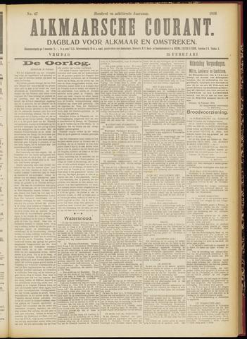 Alkmaarsche Courant 1916-02-25