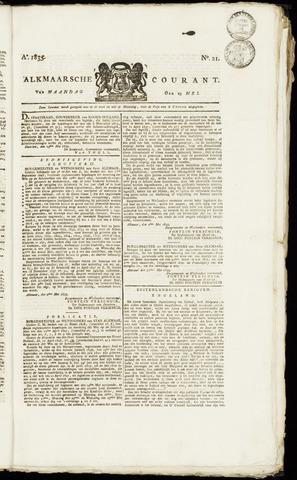 Alkmaarsche Courant 1835-05-25