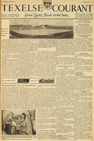 Texelsche Courant 1957-01-09