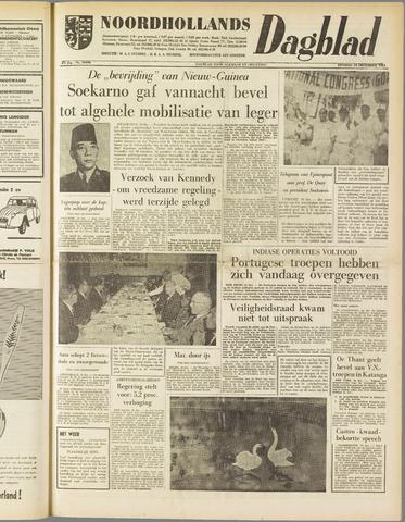 Noordhollands Dagblad : dagblad voor Alkmaar en omgeving 1961-12-19