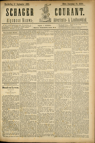 Schager Courant 1895-09-12