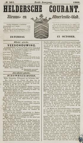 Heldersche Courant 1866-10-13
