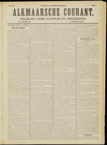 Alkmaarsche Courant 1912-02-03