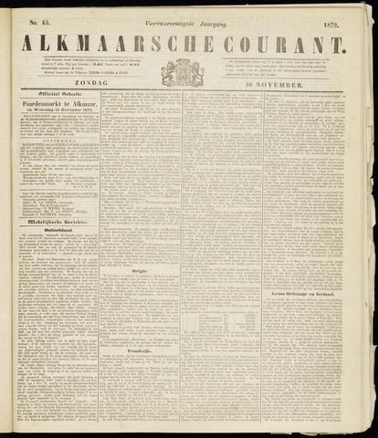 Alkmaarsche Courant 1872-11-10