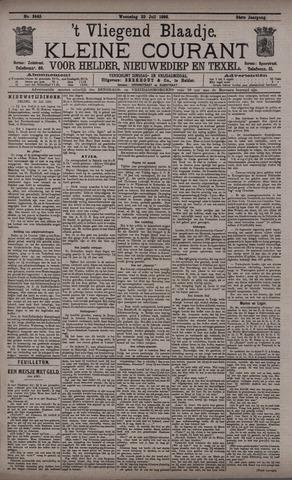 Vliegend blaadje : nieuws- en advertentiebode voor Den Helder 1896-07-22