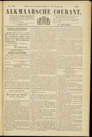 Alkmaarsche Courant 1889-12-20
