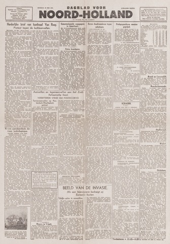 Dagblad Noord-Holland, Schager editie 1944-05-23