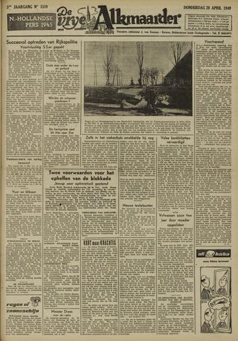 De Vrije Alkmaarder 1949-04-28