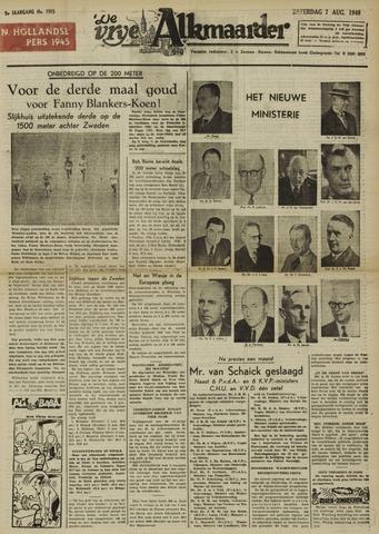 De Vrije Alkmaarder 1948-08-07