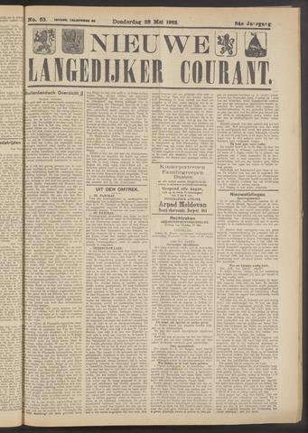 Nieuwe Langedijker Courant 1925-05-28