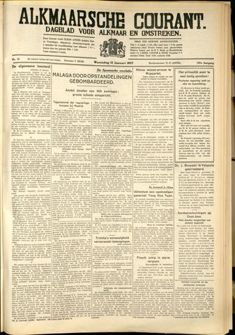 Alkmaarsche Courant 1937-01-13