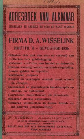 Adresboek van Alkmaar 1912-01-01