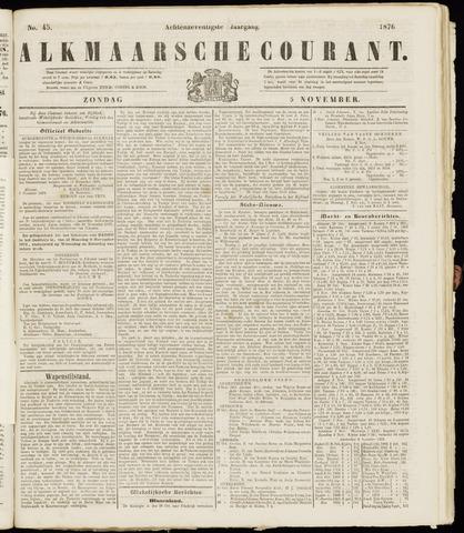 Alkmaarsche Courant 1876-11-05