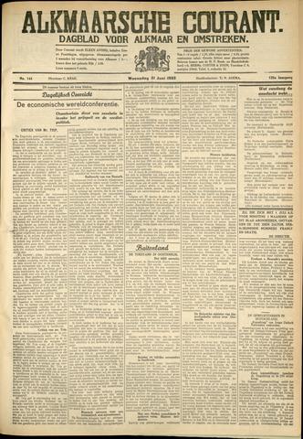 Alkmaarsche Courant 1933-06-21