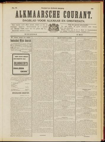 Alkmaarsche Courant 1911-05-17