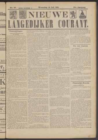 Nieuwe Langedijker Courant 1921-07-13