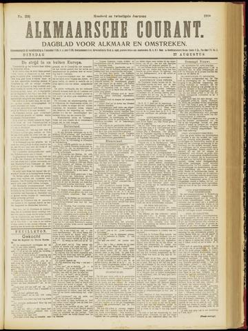 Alkmaarsche Courant 1918-08-27