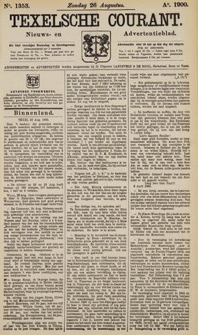 Texelsche Courant 1900-08-26