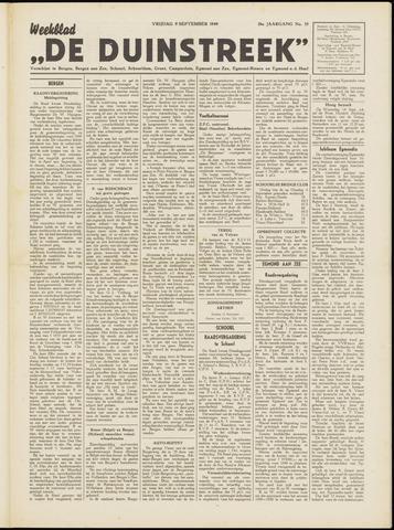 De Duinstreek 1949-09-09