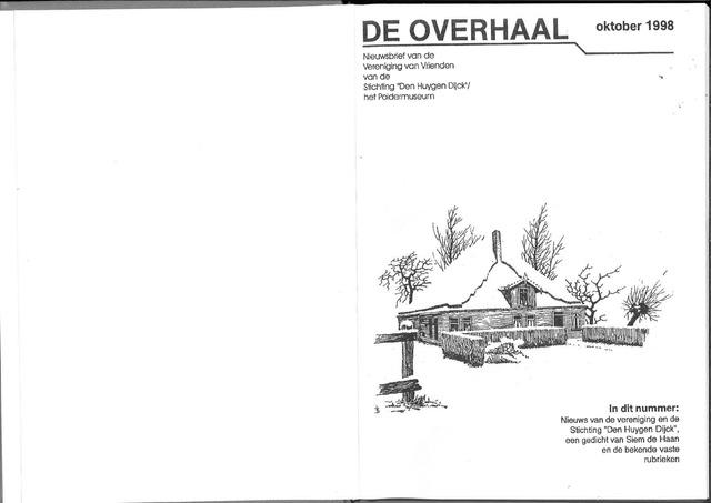 De Overhaal: historisch magazine Heerhugowaard 1998-10-01