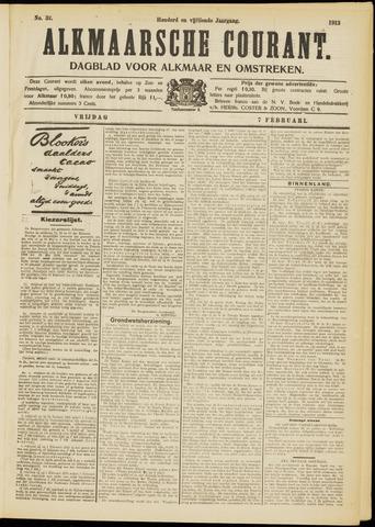 Alkmaarsche Courant 1913-02-07