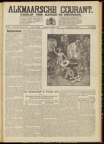 Alkmaarsche Courant 1939-12-30