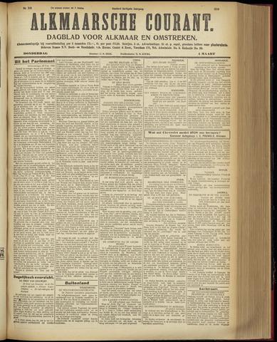 Alkmaarsche Courant 1928-03-01