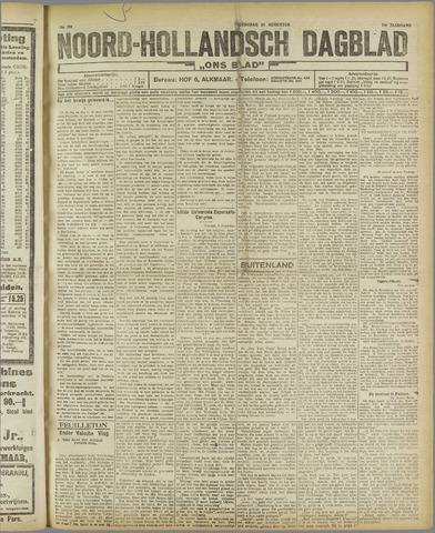 Ons Blad : katholiek nieuwsblad voor N-H 1921-08-17