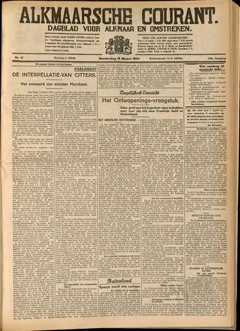 Alkmaarsche Courant 1934-03-15
