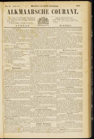 Alkmaarsche Courant 1901-04-28