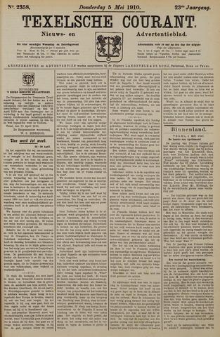 Texelsche Courant 1910-05-05