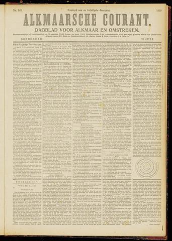 Alkmaarsche Courant 1919-06-26