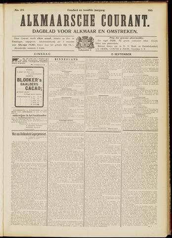 Alkmaarsche Courant 1910-09-13