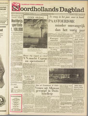 Noordhollands Dagblad : dagblad voor Alkmaar en omgeving 1964-03-27