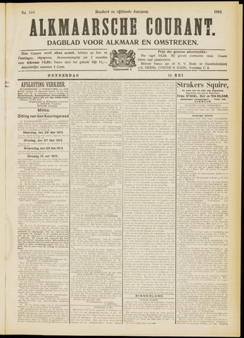 Alkmaarsche Courant 1913-05-15