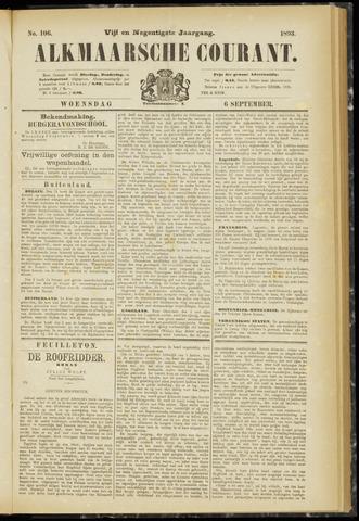 Alkmaarsche Courant 1893-09-06