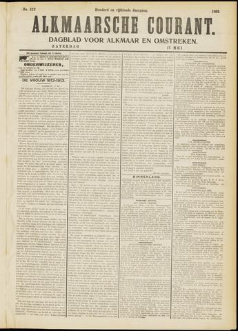 Alkmaarsche Courant 1913-05-17