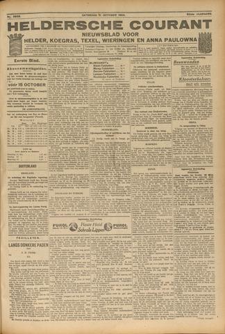 Heldersche Courant 1924-10-11