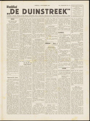 De Duinstreek 1949-11-11