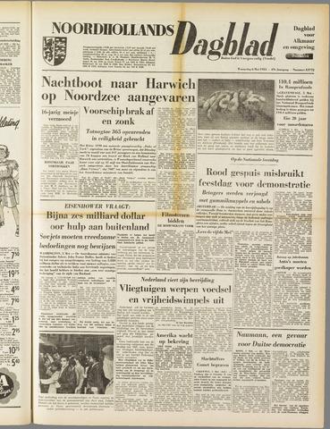 Noordhollands Dagblad : dagblad voor Alkmaar en omgeving 1953-05-06