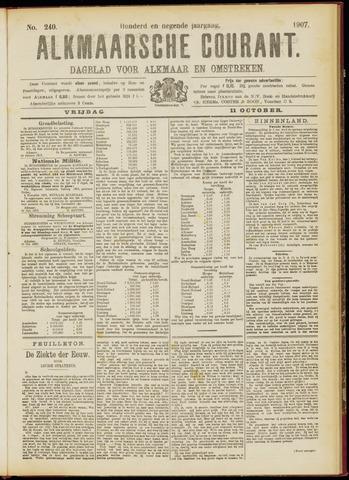 Alkmaarsche Courant 1907-10-11