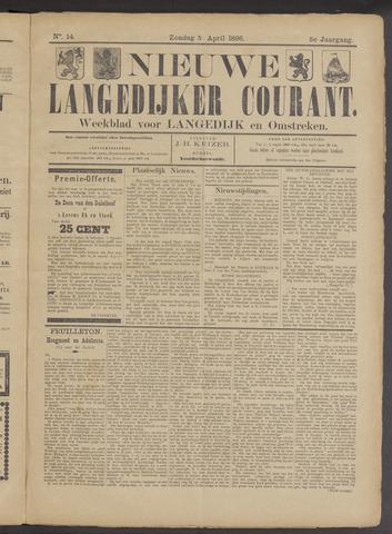 Nieuwe Langedijker Courant 1896-04-05