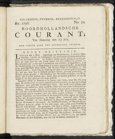 Noordhollandsche Courant 1798-07-23