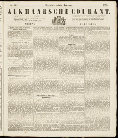 Alkmaarsche Courant 1875-08-01