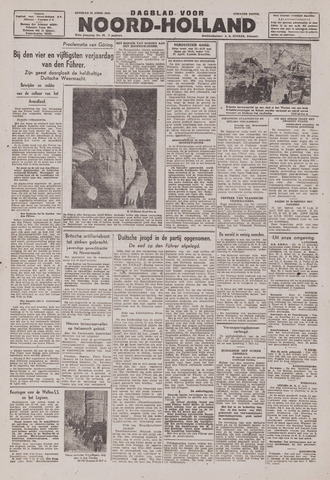 Dagblad Noord-Holland, Schager editie 1943-04-20