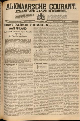 Alkmaarsche Courant 1939-11-06